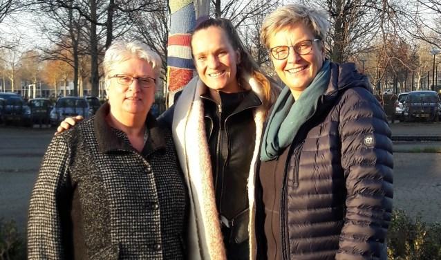 """Netwerk Eenzaamheid met v.l.n.r.: Annemiek Visser, Maartje Eppink en Karin Swier. Uit ervaring weten zij hoe het is als je je eenzaam voelt """"De vraag is ook wat je er zelf aan wilt doen."""""""