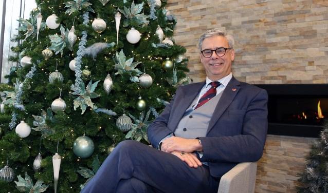 Burgemeester Jan Brenninkmeijer blikt terug op een bijzonder jaar. Foto: Theo van Sambeek.