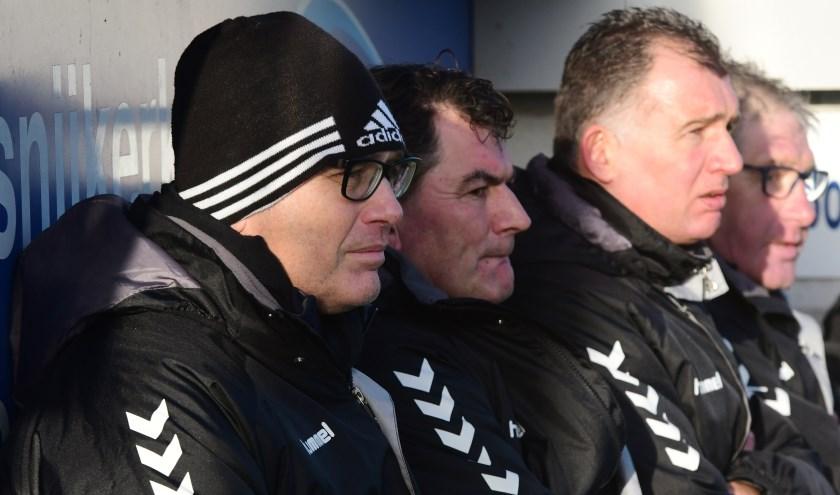 Links Richard van Vliet en daarnaast Eddy Hof. (Foto: Kees van den Heuvel)