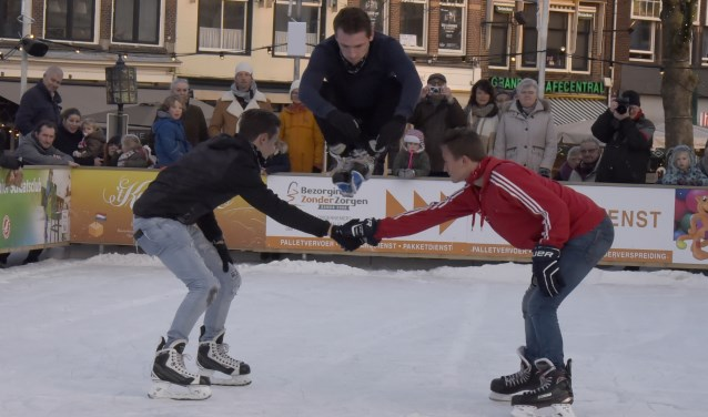 Ook dit jaar laten de freestyle skaters weer spectaculaire trics en sprongen zien tijdens hun demonstratie. Foto Marianka Peters