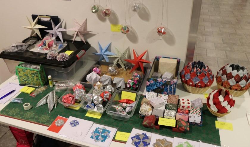 Kerst origami