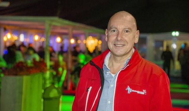 Ludo Verhagen, organisator van de Oudejaarsparty (foto Studio Wouw)