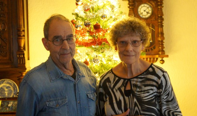 Wim en Fily zijn 50 jaar getrouwd.