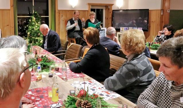 In de Kerstherberg was weer genoeg plaats voor Haaksbergenaren die behoefte hebben aan gezelschap. Foto: Betty Morsinkhof