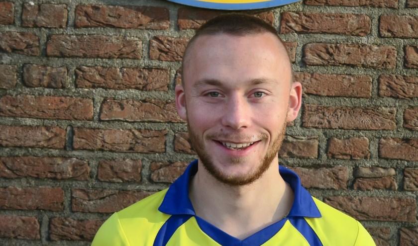Toon van Dam scoorde voor Sportlust Vroomshoop tegen UD.