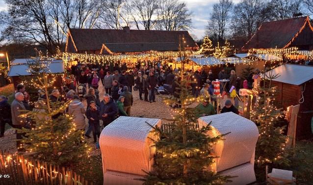 In Tierpark Nordhorn is vanaf vrijdag de kerstmarkt te bezoeken. Foto: Franz Frieling