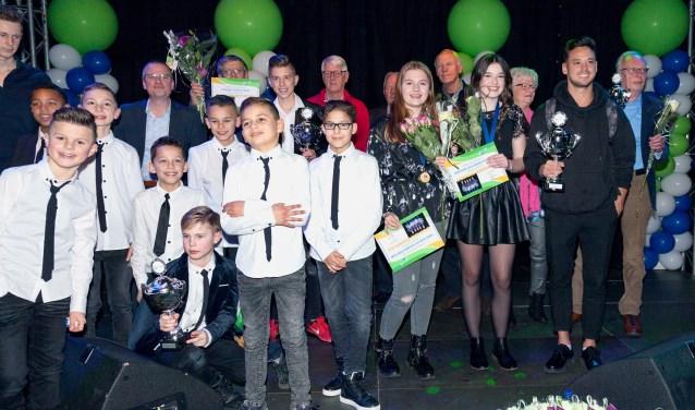 De gemeente Zwijndrecht viert op vrijdag 25 januari in de Develsteinhal het 10-jarig jubileum van de sporthuldiging. (Foto: Martin Hulsman fotografie)