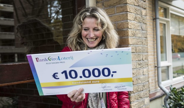 Loterijwinnares Corien (54) uit Soest. (Foto: Jurgen Jacob Lodder)
