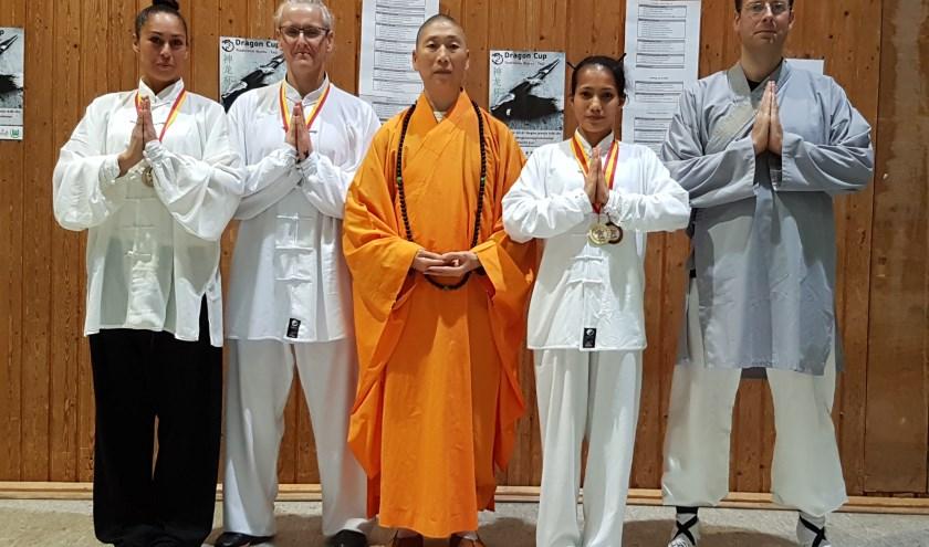 Shaolin Monnik met team Apeldoorn