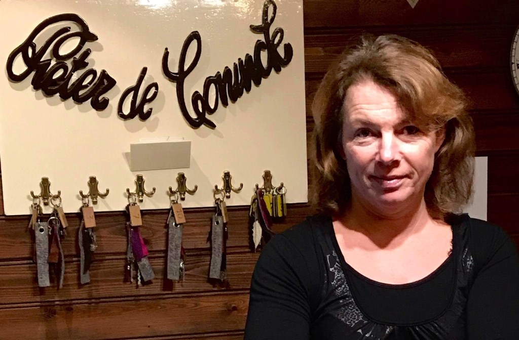 Anne Degenhardt van hotel Pieter de Coninck**