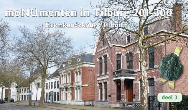 De 100 gebouwen die tussen 2016 en 2018 werden verzameld zijn nu gebundeld in deel 3: 'MoNUmenten in Tilburg 201 – 300'.