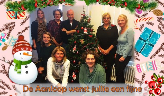 De medewerkers van De Aanloop wensen iedereen een fijne kerst en een mooi 2019!