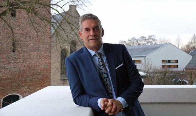 Burgemeester Naafs is content met de toenemende betrokkenheid van inwoners en bedrijfsleven bij tal van initiatieven. Foto: Hanny van Eerden