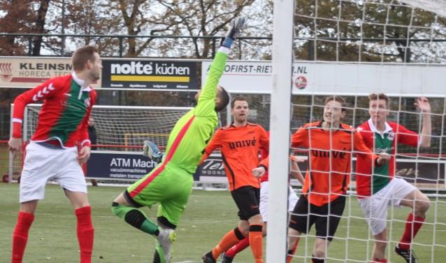 Tegen Voorwaarts Twello speelde Bon Boys de beste wedstrijd van het seizoen, aldus trainer Berthil ter Avest.