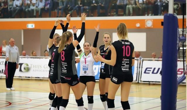 Eurosped is momenteel de nummer 2 van Nederland. Donderdag verdedigt de Vroomshoopse ploeg de Twentecup. Foto: Berto de Jong