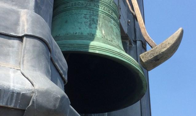 detail klok met hamer carillon Veere