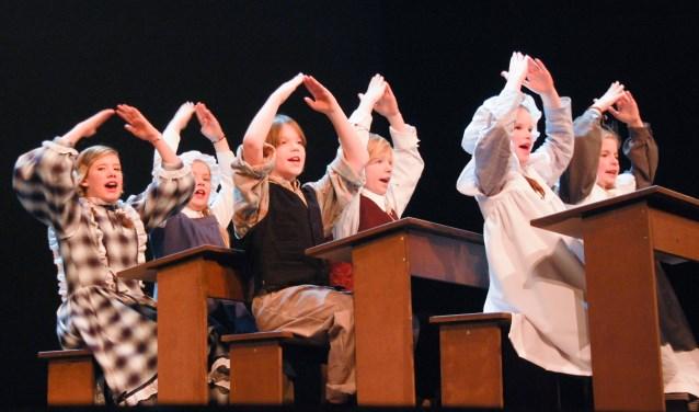 kinderen van theaterschool luna