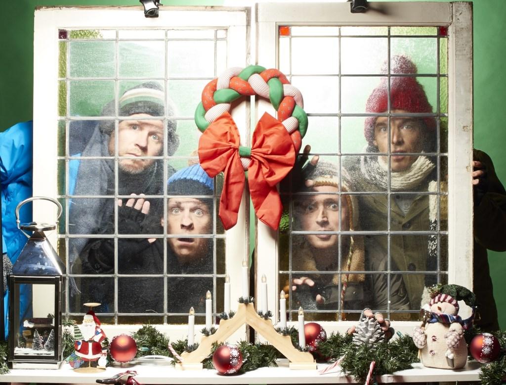 Improvisatiecabaret op zijn best tijdens 'Een Magische Kerst' van Op Sterk Water, vrijdag in ZINiN.  © Persgroep