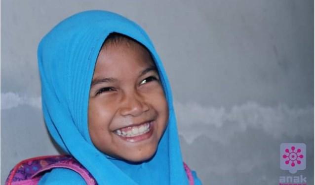 De negenjarige Sofia is blij naar school te mogen