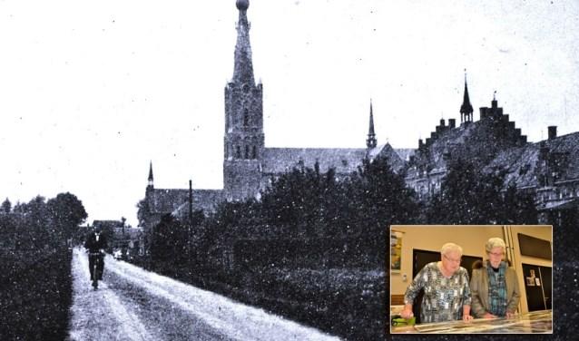 De Archief*Kring Hank bezit ook een unieke verzameling foto's zoals deze van de Kerkstraat rond 1916. Foto: Archief*Kring Hank.