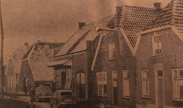Woningen op het Haareinde.