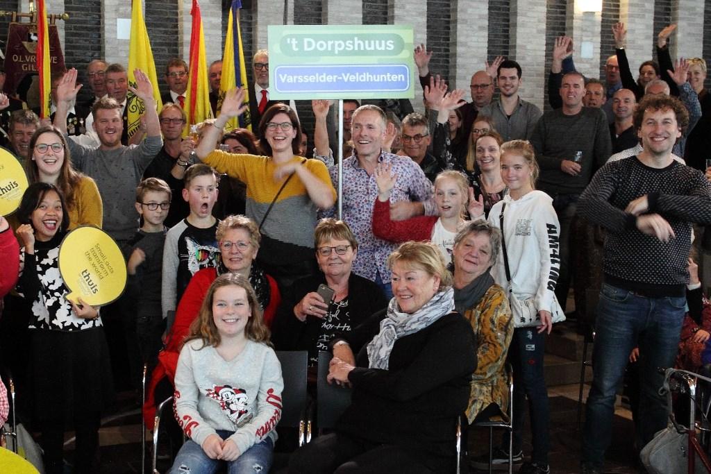 Deel van de vrijwilligers van 't Dorpshuus Foto: foto: Nico Marcus © Persgroep