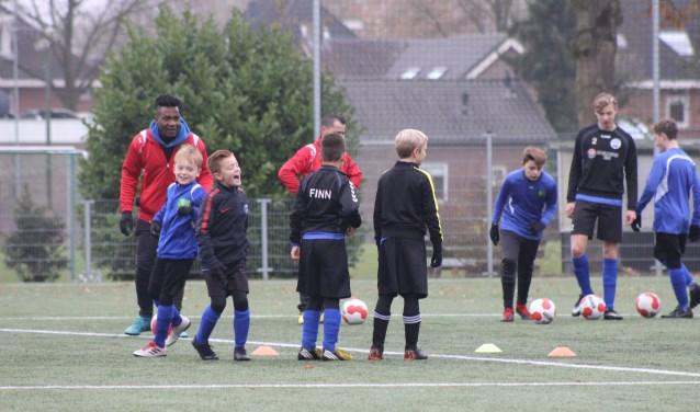 De Ali Ibrahim voetbalacademie in actie
