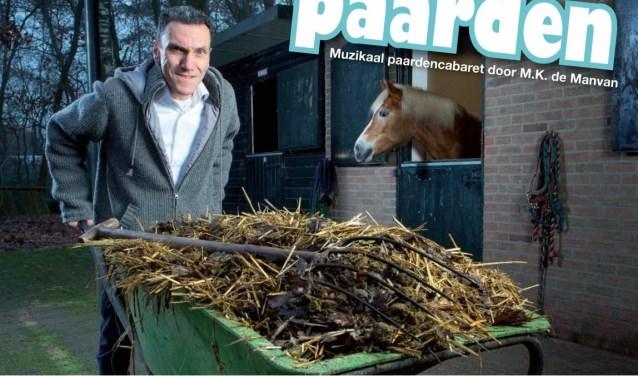 Heel herkenbaar voor wie met een paardenliefhebber is getrouwd: het paardencabaret van M.K. de Manvan.