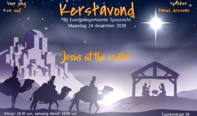 Uitnodiging kerstavond