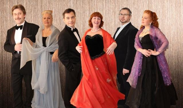 Het Neva-ensemble uit Sint Petersburg.
