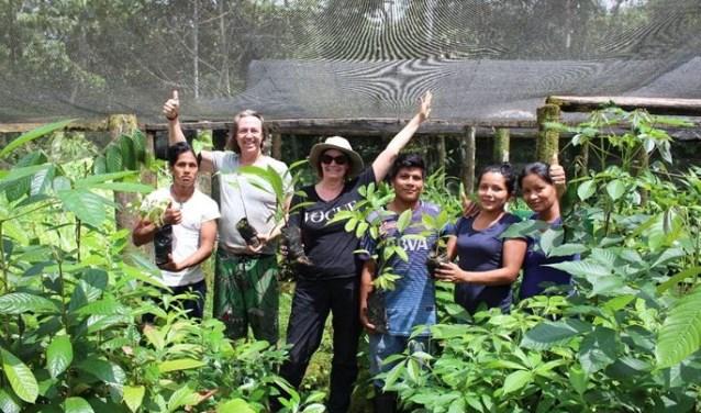 Een speciale gast op het KerstSTEKtakel is de Rainforest Family, die zich inzet voor de Shuar-stam in het Ecuadoraanse deel van de Amazone.