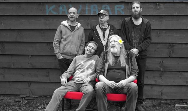 Onder de titel 'Happy Kavijaar' verzorgt muziekensemble Kaviaar samen met een aantal gastartiesten donderdagavond 27 december in filmtheater fiZi in Zierikzee een optreden. FOTO: Pieter van der Laan