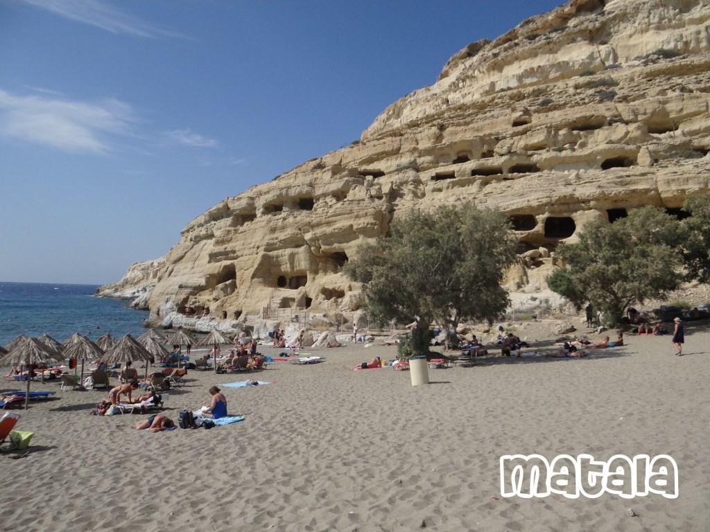 Matala Kreta Foto: Ferry © Persgroep