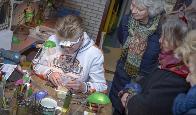 Zaterdag was in Schoonhoven de Nacht van het Zilver. (Foto: Wijntjesfotografie.nl)