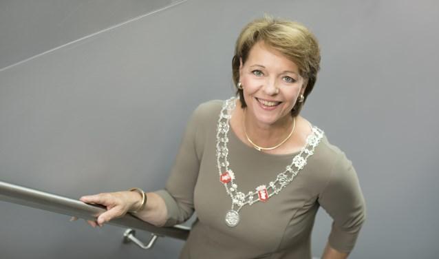 Burgemeester Elly Blanksma.