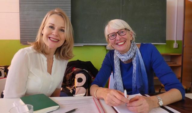 Marieke Bakker en Annette Ursem van Stichting 3D. (Foto: Adriënne Nijssen)