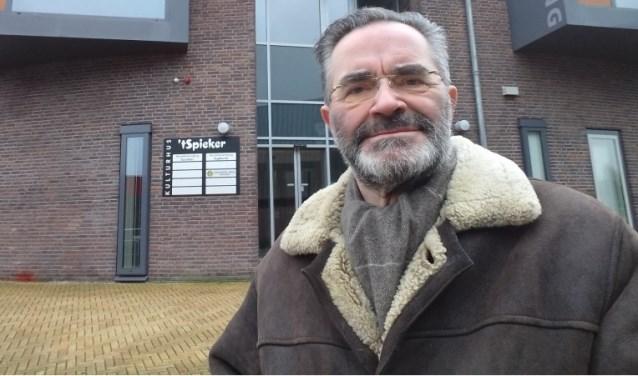 Dirigent Joop Dijkman.