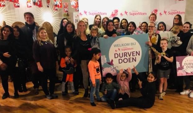 Stichting Single SuperMom brengt alleenstaande moeders met elkaar in contact. Eigen foto
