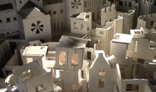 Kristie Legters - Het Stedelijk Lichaam (detail)