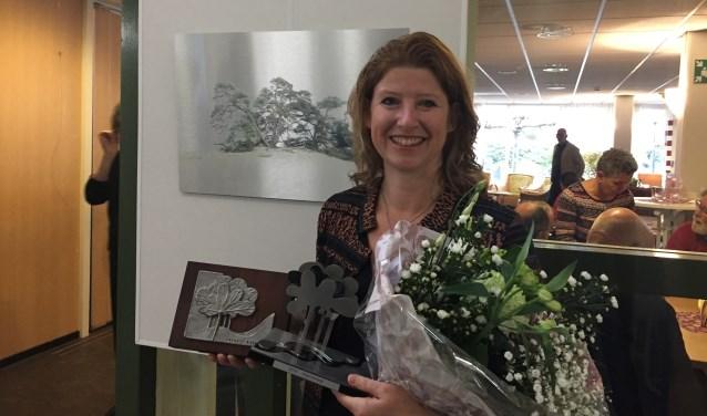 Dit is Anja Stolwijk: de prijzenwinnares van 'Creatief Boskoop' en een kunstenares in wording.