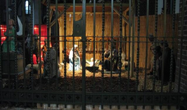 Kerststal in de Sint-Antoniuskerk (foto: Wiljan van der Zanden)
