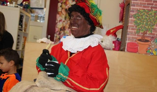zwarte Piet op peuterspeelzaal  Moriaantje