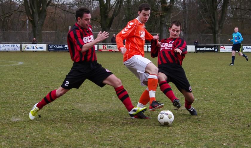 Menno Diepenbroek van Zelos in actie. (Foto: Henk Reindsen)