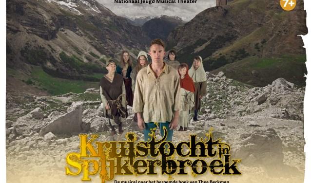 Een spannende musical, gebaseerd op het populaire boek van Thea Beckman. Foto: Joris van Bennekom