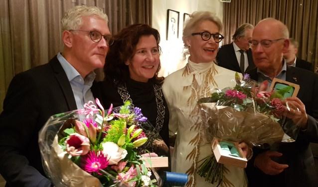 Willem de Volder, Marcelle Hendrickx, Marie-Thérèse Blomme en Herman Verhoeven.