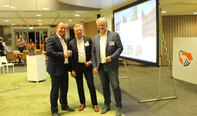 Steven Enneman, Lex Geerts en Dieter de Vroomen. FOTO: Lydia van der Meer