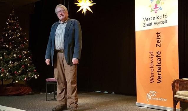 Verteller Wim van der Ende.