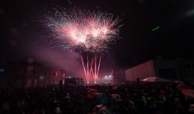 Elk jaar komen enkele duizenden mensen uit Roosendaal en omgeving op de vuurwerkshow af.
