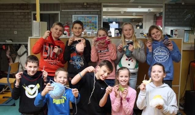 Kinderen Leren Haken Op Warmetruiendag De Faamnl