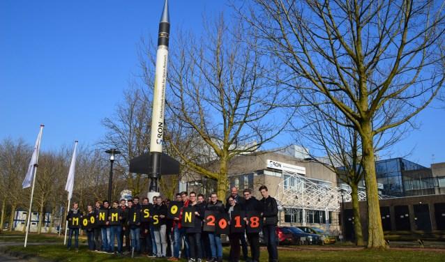 Technasiumleerlingen bezoeken SRON (FOTO: SRON/Renske van den Berg)